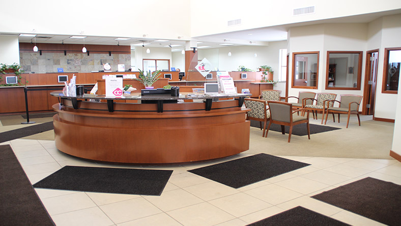 CCCU Lake Elmo Office Lobby
